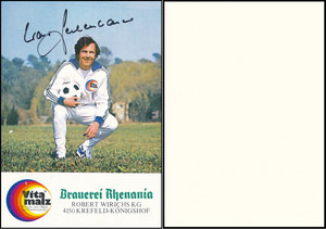 Beckenbauer, 1974, Vitamalz 'Rhenania'