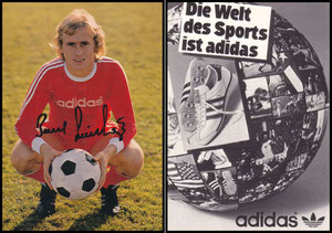 Dürnberger, 1978, Adidas 'Die Welt des Sports ist Adidas'