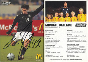 Ballack, 2005, McDonalds