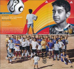 DFB, 2006, 'Fifa 2006', Faltkarte