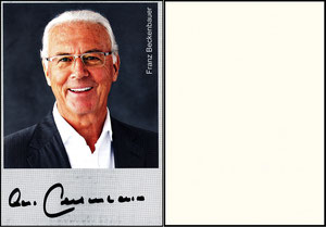 Beckenbauer, 2015, Privatkarte 2