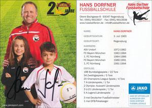 Dorfner, 2014, 'Hans-Dorfner Fußballschule, 20 Jahre'