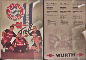 Gemeinschaftskarte, 2000, Würth, Dank an SF Norbert, GESUCHT