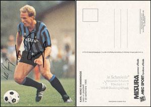 Rummenigge, 1984, Inter Mailand, Satzkarte