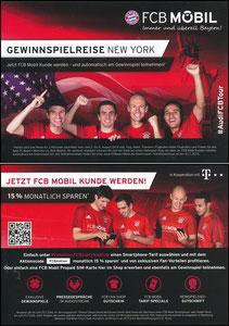 Bayern München, 2016, 07'2016,  FCB Mobil 'USA-Reise'