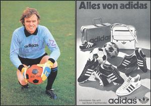 Maier, 1976, Adidas, 'Alles von Adidas'