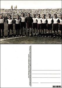Fan Shop, Postkarte, '1932, Meisterschaft', Dank an SF Sven
