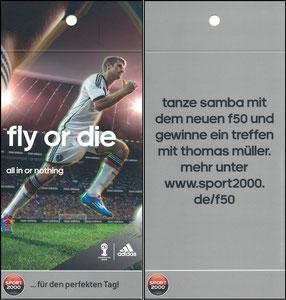 Müller, Thomas, 2014, Adidas, Sport 2000, Regalhänger