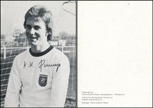 Rummenigge, 1976, Reich-Karte