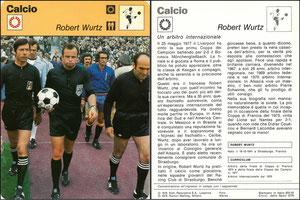 'Robert Wurz', Italien, 1978, 833-033, Dank an SF Hermann