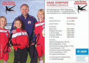 Dorfner, 2018, 'Hans Dorfner Fußballschule'