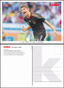 Kicker Sammelkarte 58, Müller, Thomas