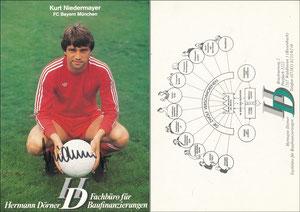 Niedermayer, 1980, Hermann Dörner, Rückseite nach rechts