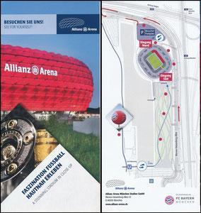 Allianz Arena, 2016, Besucherinfo