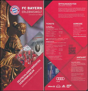 Bayern Erlebniswelt, 2016, Flyer 2