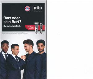 P&G, 2019, 'Bart oder kein Bart', 09'2019, A5