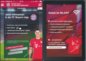 Lewandowski, 2016, Bayern-App, A5-Karte