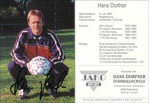 Dorfner, 1990er, 'Hans-Dorfner Fußballschule', Motiv 2