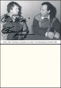 Gemeinschaftskarte, 1985, Danzberg, Beckenbauer, 'Hit-Spiel'