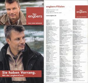 Helmer, 2006, Engbers 'Sie haben Vorrang - EngbersCard'