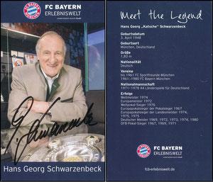 Bayern Erlebniswelt, 2015, 'Meet the Legend', Schwarzenbeck