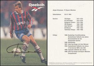 Klinsmann, 1996, Reebok