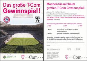 Telekom, 2003, T-Mobile 'Telefonkarte Double-Gewinner'