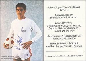 Schenk, 1978, Schwabinger Wind-Surfing-Shop