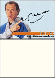 Beckenbauer, 1988, Obi, Motiv 4
