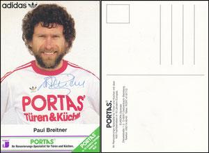 Breitner, 1980er, Portas 'PORTAS  Ihr Renovierungsspezialist für Türen und Küchen', grüne Ecke