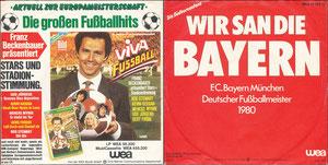 Beckenbauer, 1980, 'Die großen Fußballhits', Single-Cover
