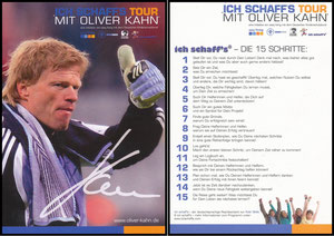 Kahn, 2009, 'Ich schaff's Tour'