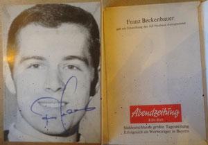Beckenbauer, 1968, Abendzeitung