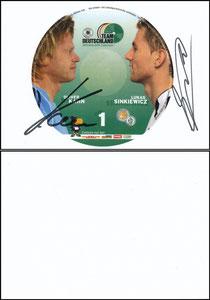 DFB, 2006, 'Team Deutschland' Kahn-Sinkiewicz