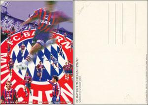 Postkarte, 1996, Künstlerkarte 'Dominik Wein' A5