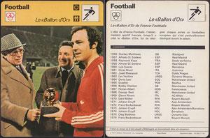 'Der Ballon d'Or', Frankreich, 1977, 16-265 11-18, Bildquelle google