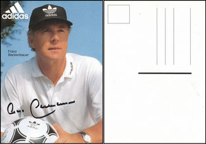 Beckenbauer, 2002, Adidas Sports Watch, Drei-Streifen-Emblem