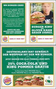 Kahn, 2006, Burger King