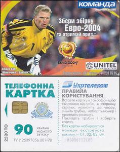 Kahn, 2004, UniTel, russische Telefonkarte