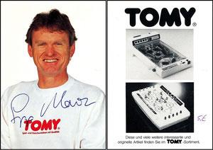 Maier, 1980, Tomy Tischflipper, mit Druck-AG