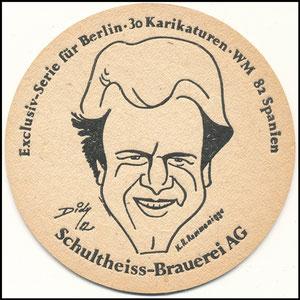 Rummenigge, 1982, Schultheiss-Brauerei, Bierdeckel