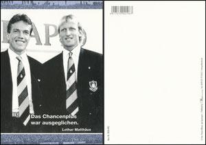 Matthäus, 2008, dpa Picture Alliance, Motiv mit Matthäus und Brehme aus 1988 oder 1990