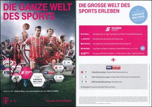 Telekom, 2017, 11'2017, A5 (1), signiert Robben