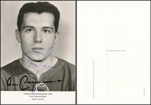 Beckenbauer, 1966, WM 1966 'Foto Tschirner'