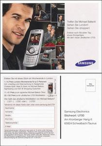 Ballack, 2007, Samsung 'U 700'