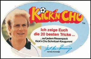 Rummenigge, 1982, Kick'n Chu, Aufkleber