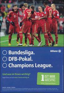 Mannschaftskarte 2012, 'Allianz'