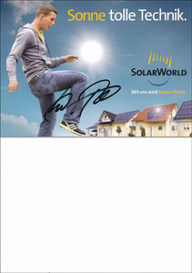 Podolski, 2009, Solarworld