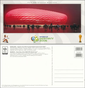 Allianz Arena, 2006, 'Fifa WM', Huber-Karte
