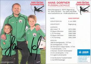 Dorfner, 2019, 'Hans Dorfner Fußballschule'